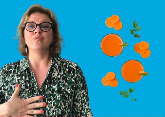 la carotte est bonne pour la vitamine A qu'elle contient