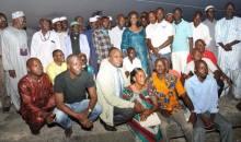 Rencontre de la Mudeska avec le maire de Kaniasso