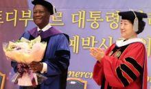Université Féminine de Sookmyung en Corée du Sud/ Le Chef de l'Etat reçoit le titre de Docteur Honoris Causa