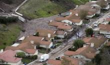 Californie: deux décès, des dizaines de maisons englouties après de violentes intempéries