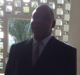 Le colonel Tibé Bi Balou, au Tribunal d'Abidjan, jeudi 7 mai 2015 (Ph:Dr)
