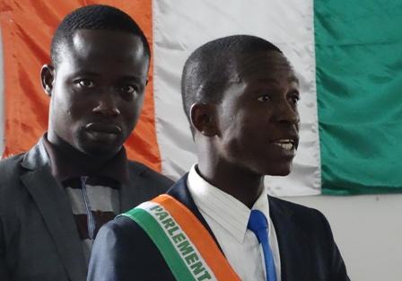 L'honorable Vah Yao Josué, président du Parlement de Côte d'Ivoire