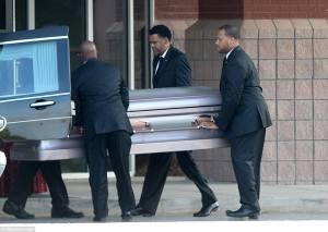 Le cercueil de Bobbi Kristina Brown (Ph:Dr)