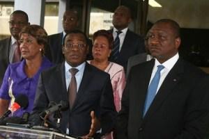 Pascal Affi N'Guessan, le porte-flambeau du FPI (Ph:Dr)