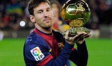 Lionel Messi, sacré joueur européen de l'année