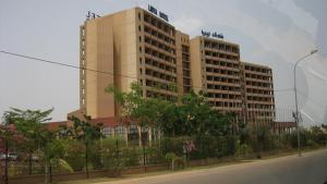 L'hôtel Laico de Ouagadougou, siège de la médiation de la Cédéao depuis deux jours.photos/attawayjl