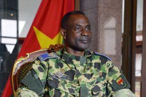 Le general Gilbert Diendéré, nouvel homme fort du Burkina.Ph.Dr