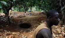 Le ministre des Mines et de l'Energie en guerre contre le phénomène d'orpaillage clandestin à Man