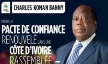 Présidentielle 2015 en CI/ Charles Konan Banny sera « Face aux électeurs » à 21 heures GMT, à la RTI1