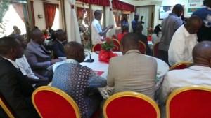 Une vue des patrons de presse présents à la rencontre avec le ministre Sidi Touré.