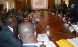La salle de conférence de la direction générale de la Sodefor a été prise d'assaut par les principaux acteurs de la forêt classée du Cavally.