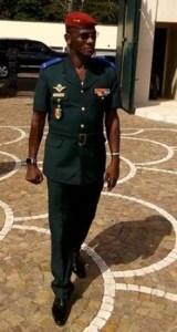 Général de brigade Diomande Vagondo, chef d'Etat-major particulier du Président de la République.