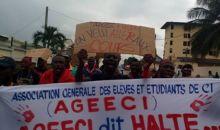 Abidjan : L'Ageeci dénonce la reprise des violences sur le campus #UniversitéFélixhouphouëtboigny