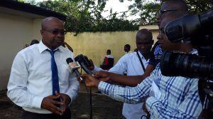 Dr Christophe Kouamé, président de CIVIS-CI et ses collaborateurs ont décidé de donner un coup d'accélérateur à la démocratie en Côte d'Ivoire. Ph. Dr