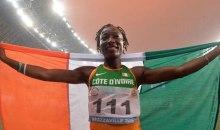 [Athlétisme/Jeux africains 2019] Encore de l'Or pour l'ivoirienne Ta Lou sur le 100 m dames