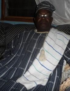 ''Après le passage du chef de l'Etat, Alassane Ouattara, je continue d'appeler à l'apaisement''.Ph.S.K