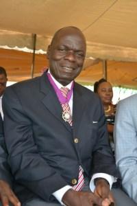 Le président du conseil régional du Tonkpi, M. Woi Gaston Aimé. Ph.Dr