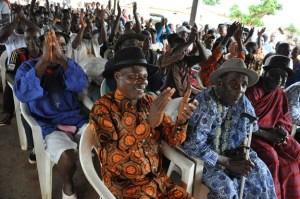 Le peuple Guébié a apporté son soutien à Maurice Kacou Guikahué...