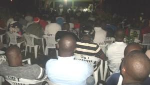 Les populations ont religieusement écouté l'émissaire du ministre d'Etat Amadou Gon Coulibaly.