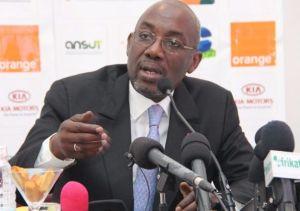 Le président Sidy Diallo est le grand gagnant de l'accord entre Guillou et la FIF. Ph. Dr
