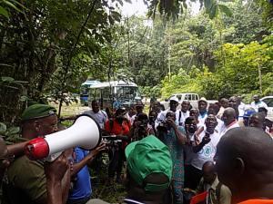 Les échanges avec les forestiers ont permis d'éclairer davantage la lanterne des journalistes sur les fonctions de la forêt.