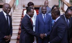 Le chef de file de l'opposition ivoirienne Affi N'Guessan est contre l'élaboration d'une nouvelle Constitution. Ph. Dr