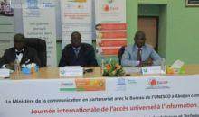 La Journée internationale de l'accès universel à l'information célébrée en Côte d'Ivoire
