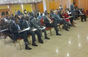L'ensemble des partenaires ont effectué le déplacement pour prendre part à la conférence initiée par ICTJ. Ph. EKB