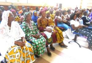 Plusieurs femmes du District de Séguéla, Touba et Mankono n'ont pas voulu rester en marge de la mobilisation.
