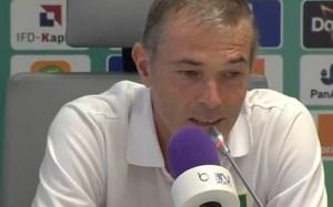 L'entraineur des Eléphants Michel Dussuyer croit à la victoire de son équipe. Ph. Dr