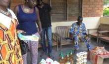 Man : une association de bienfaisance fait don de kits alimentaires et sanitaires à la pouponnière de Zranwopleu