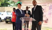 Renforcement du système santé et de réponse aux urgences épidémiques : la Banque mondiale fait don d'équipements d'une valeur d'un milliard FCFA à la Côte d'Ivoire
