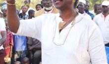 Chantal Fanny aux populations de Marina-Banangoro et Sokouraba : ''Faites de moi votre messager, je saurai porter vos voix au Parlement''