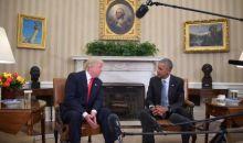 Etats-Unis :  Trump accuse  Obama d'entraver la transition