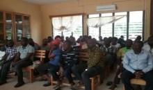 Reprise des cours à Man : les enseignants instruits sur leurs acquis
