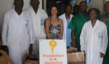 Santé publique: la fondation G.A Hommes de demain au secours des blocs opératoires du Chu de Yopougon