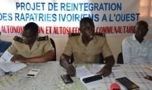 Réinsertion des rapatriés à l'Ouest de la Côte d'Ivoire : le Sous-préfet salue les actions de l'UNCHCR