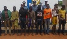 Banditisme : Le Lieutenant-Colonel Tangba Kouakou Parfait et ses hommes mettent fin au parcours de 8 bandits #Korhogo