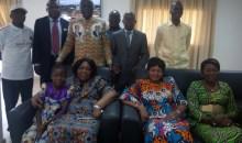Célébration de la Pâques 2017 : Rokia Ouattara, invitée spéciale du député Diby Kouassi  Albert #Bouaké