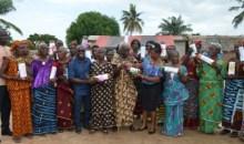 Fête des mères : des cadres comblent 350 mamans de Guiglo #Célébration