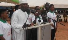 Une journée de reconnaissance au chef de l'Etat/Mamadou Sangafowa aux populations : ''Le Président Ouattara tient toujours ses engagements''