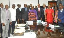 Lutte contre la dengue : les maires de Côte d'Ivoire s'engagent avec Mme le Ministre Raymonde Goudou #Santé