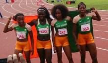 VIIIes Jeux de la Francophonie : Ta Lou et ses coéquipières sauvent la face de la Côte d'Ivoire avec une médaille d'Or #Athlétisme