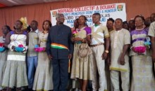 Côte d'Ivoire : 48 agents de la mairie de Bouaké régularisent leur situation matrimoniale