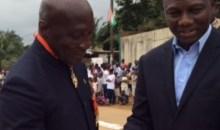 Reconnaissance : le Général de corps d'armée, Michel Gondi Gueu, honoré par la FIF et le sous-préfet de Bingerville #Sport