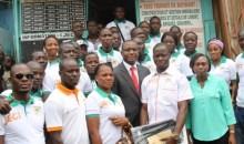 Promotion de la jeunesse : le Ministre Sidi Touré salue les actions de la Jeci de Yopougon #jeunesentreprenants