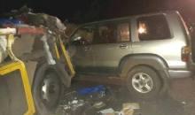 Tiébissou : 6 morts et 61 blessés dans un accident de la route