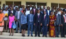L'université Peleforo Gon Coulibaly : 60 personnes instruites sur les contrats de performance des établissements d'enseignement supérieur et de recherche de Côte d'Ivoire #Education