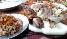 Recette du jour : le riz aux haricots blancs accompagné de poissons braisés à la villageoise