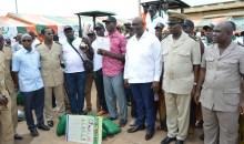 Filière coton/Koné Daouda Soukpafôlô, (président du Conseil d'administration de la Compagnie ivoirienne de coton) ''l'orpaillage clandestin menace la culture du coton'' #Agriculture